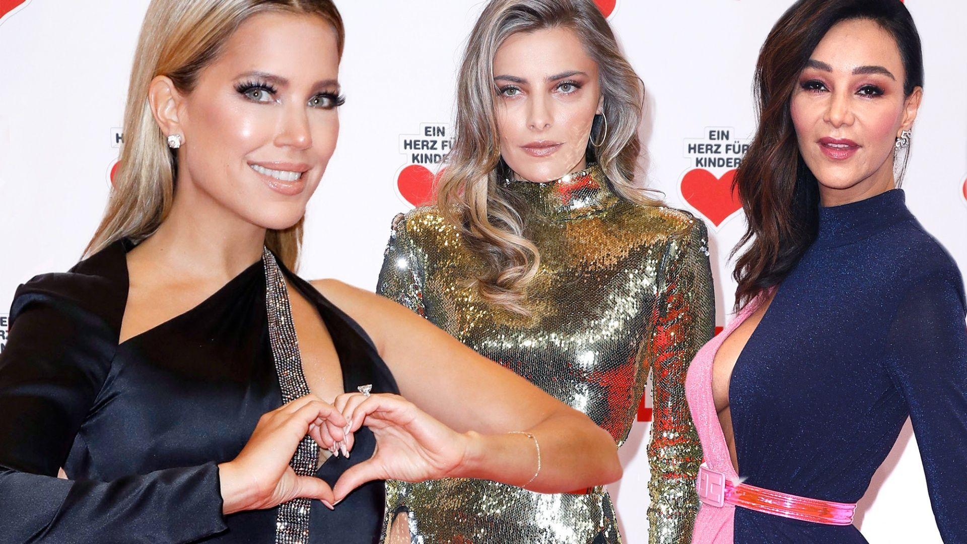 Sophia Thomalla, Sylvie Meis & Verona Pooth - Trend: Beinschlitz