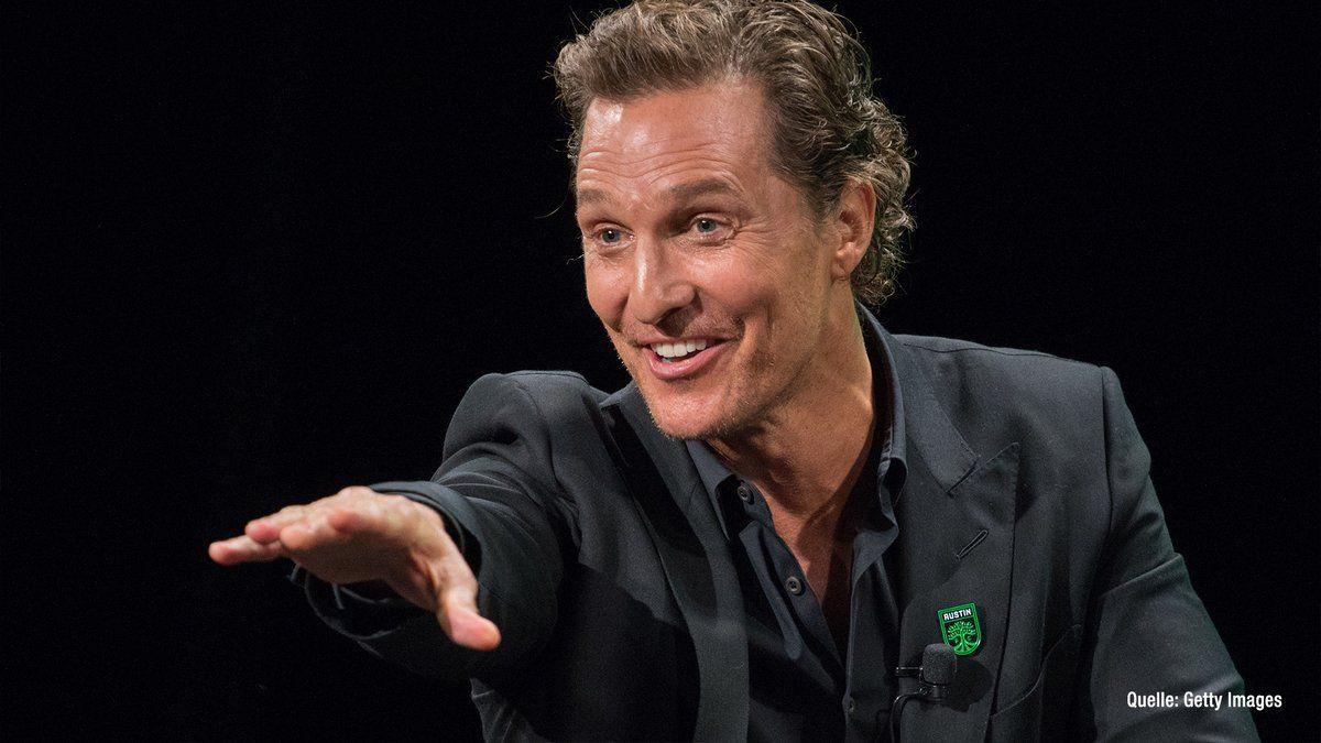 Matthew McConaughey ist jetzt auf Instagram