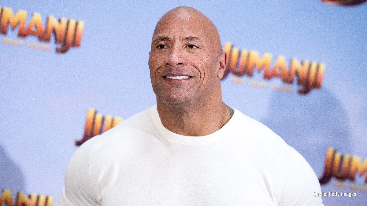 """Dwayne """"The Rock"""" Johnson wurde für ein Mädchen gehalten"""