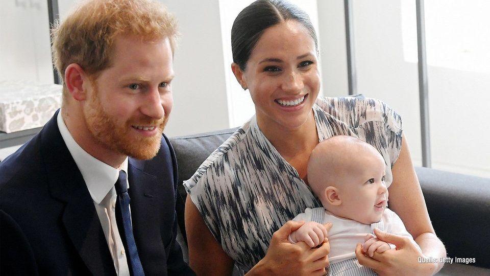 Prinz Harry verrät: Erste Worte von Sohn Archie