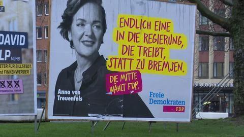 FDP in Hamburg scheitert an Fünf-Prozent-Hürde