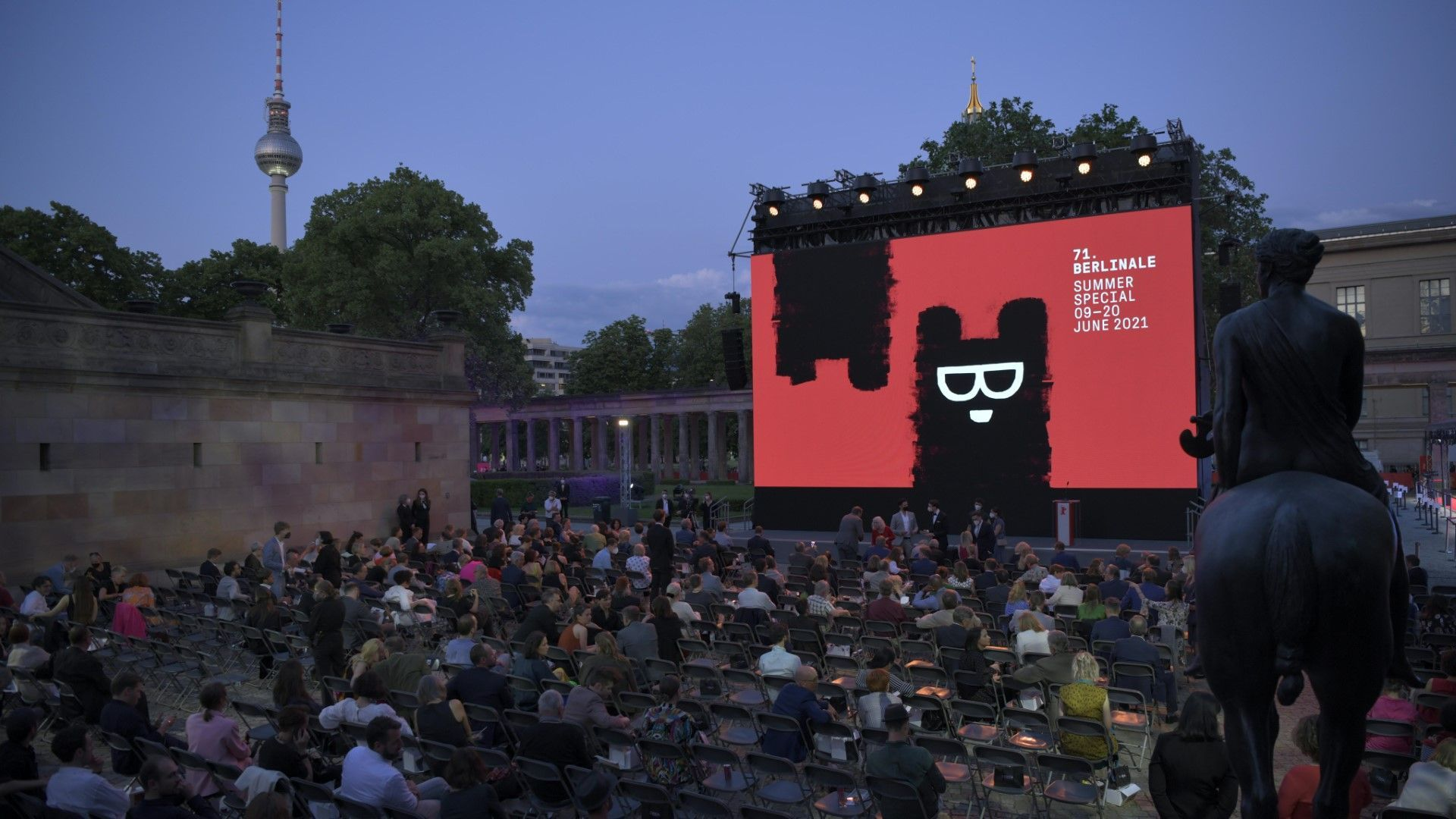 Berlinale Sommer Special startet mit Open-Air-Vorführungen