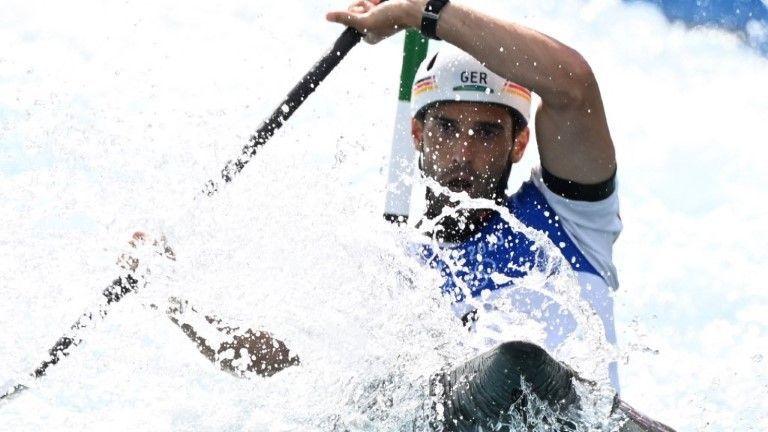 Augsburger Kanute Hannes Aigner gewinnt Bronze im Kajak-Einer