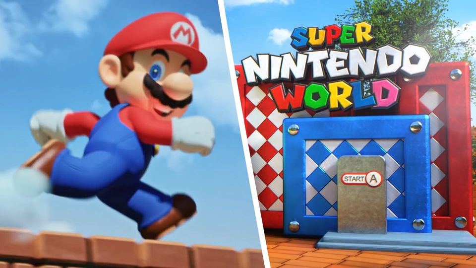 Nintendo baut Super-Mario-Freizeitpark