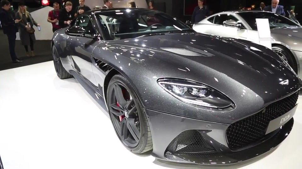 DBS Superleggera Volante - Neue Cabrio-Version von Aston Martin