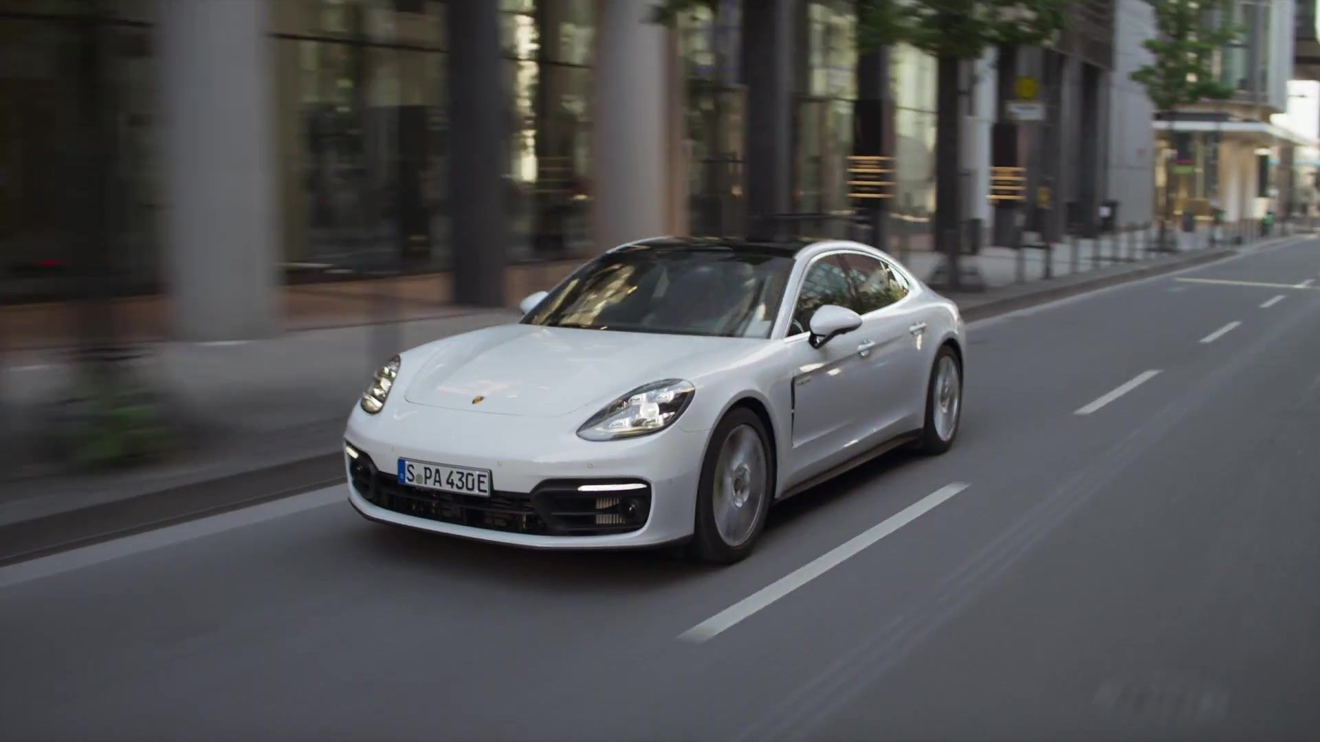 Der neue Porsche Panamera Deep Dive – Antrieb