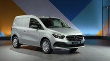 The new Mercedes-Benz Citan 112 CDI Design in Helvite silver