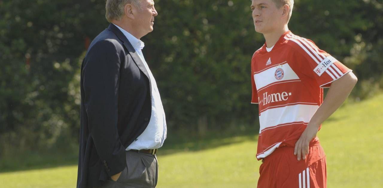 FC Bayern: Toni Kroos erzählt Anekdote über Lüge aus Anfangszeit