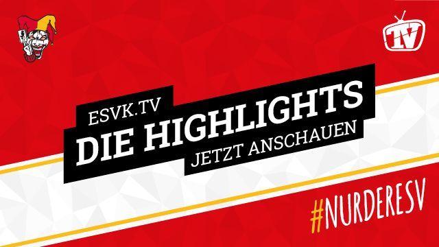 DEL2 Saison 19-20 - Highlights - ESV Kaufbeuren vs. Lausitzer Füchse