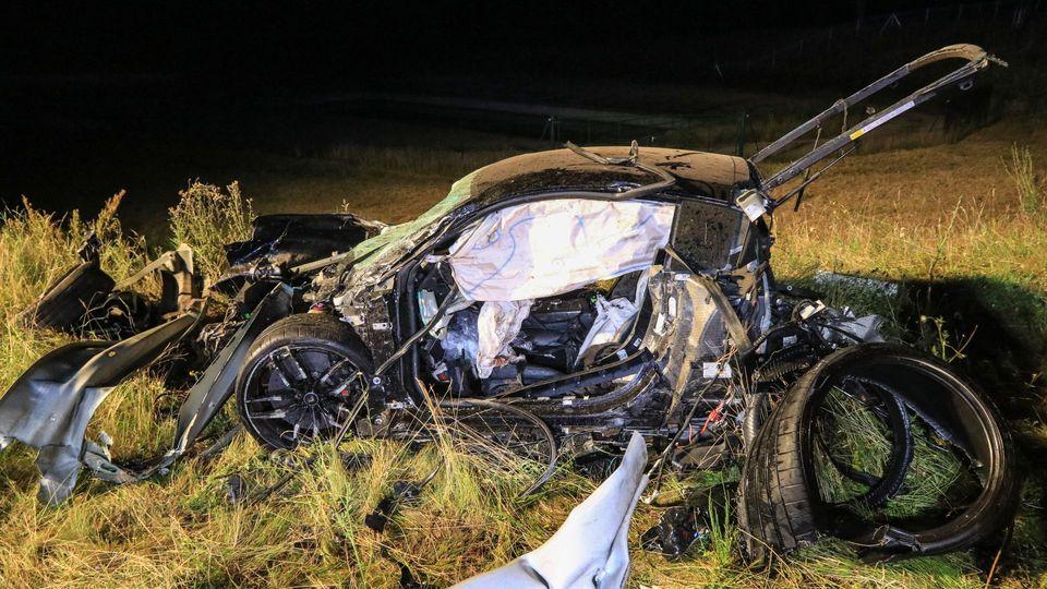 Audi r8 unfall