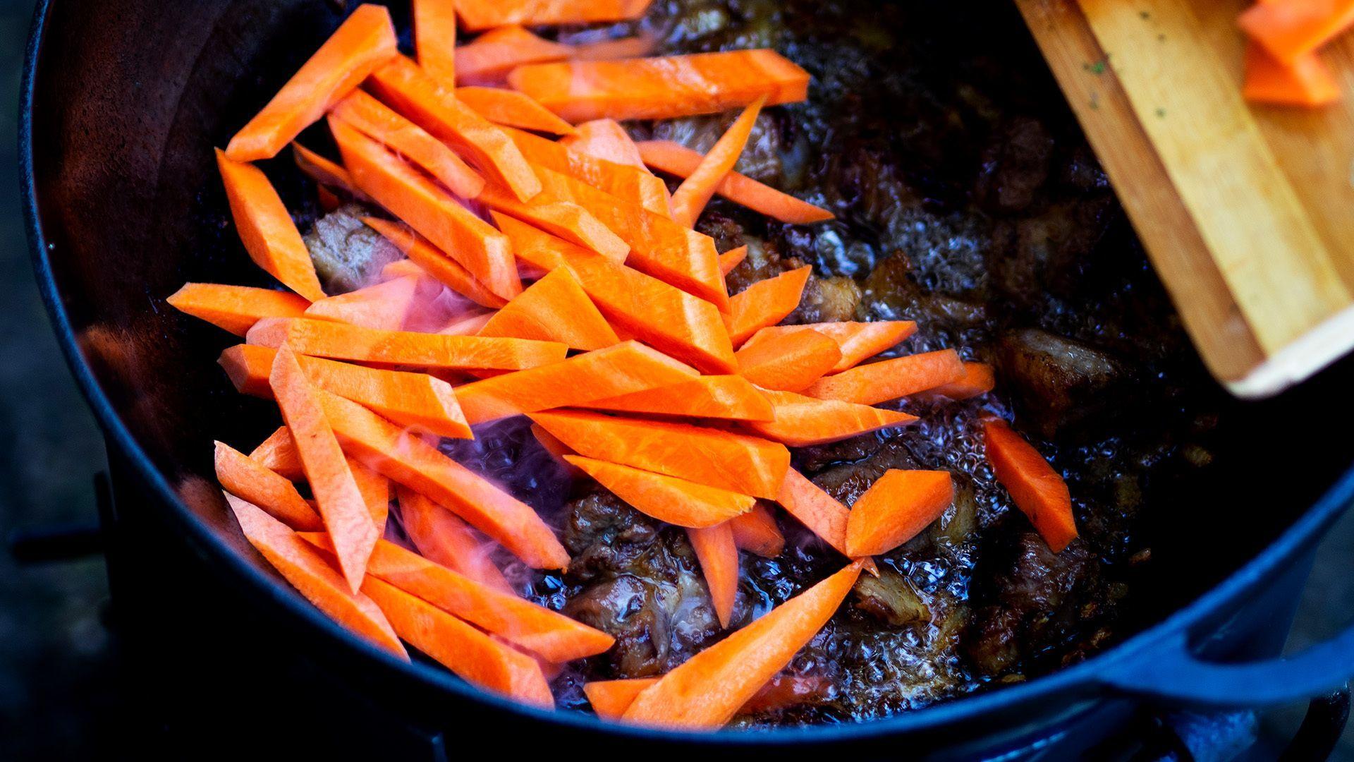 Rindfleisch mit Karotten … lecker!