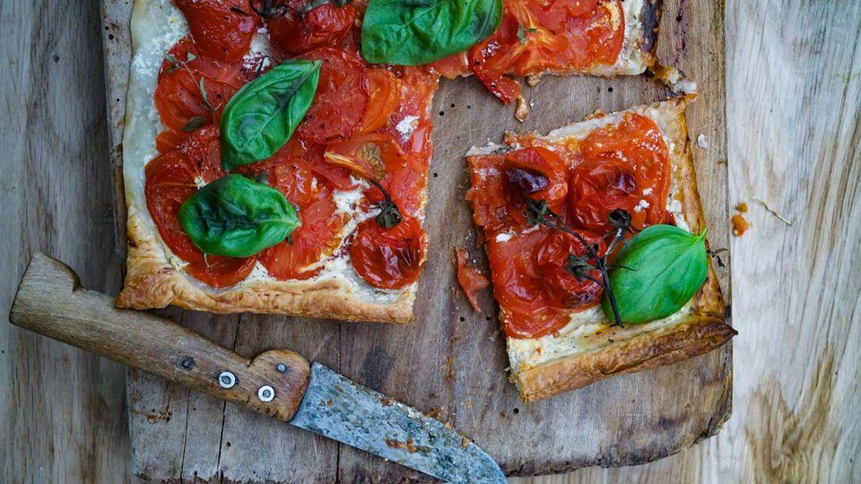 Superlecker zum Nachbacken: Blätterteig Pizza