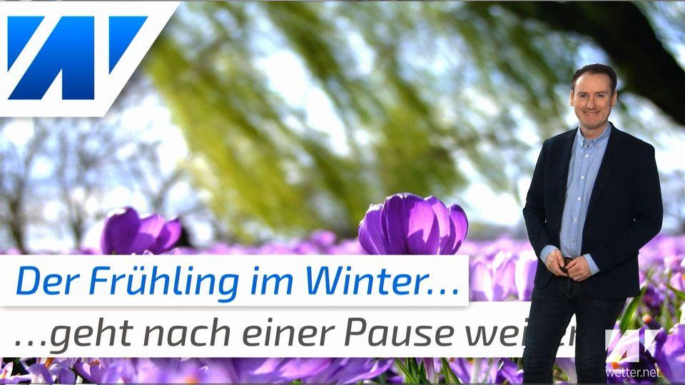 Ist der Winter noch zu retten? Nächste Woche wieder bis 14 Grad warm
