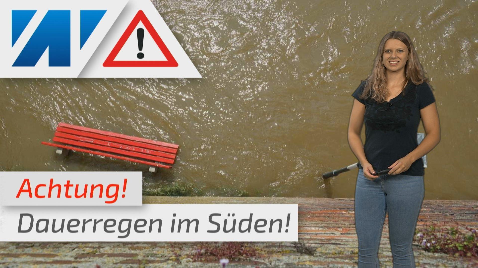 Warnung vor extremen Unwettern! Schnee, Regenmassen, Erdrutsch und Überflutungsgefahr!