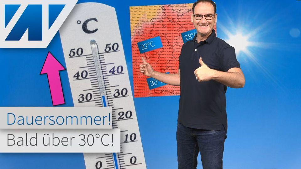 30°C und mehr: Wetterexperte verspricht uns den Dauersommer