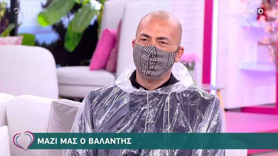 Ο Βαλάντης, υπερπροστατευμένος, παίρνει θέση για το εμβόλιο του κορονοϊού    Zappit