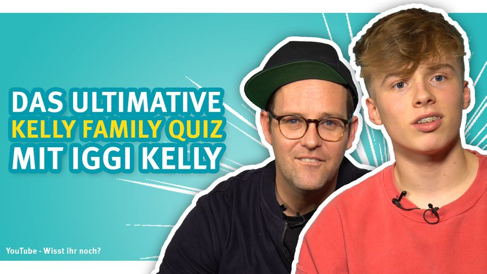 Das große Kelly-Family-Quiz mit Iggy Kelly und Ben