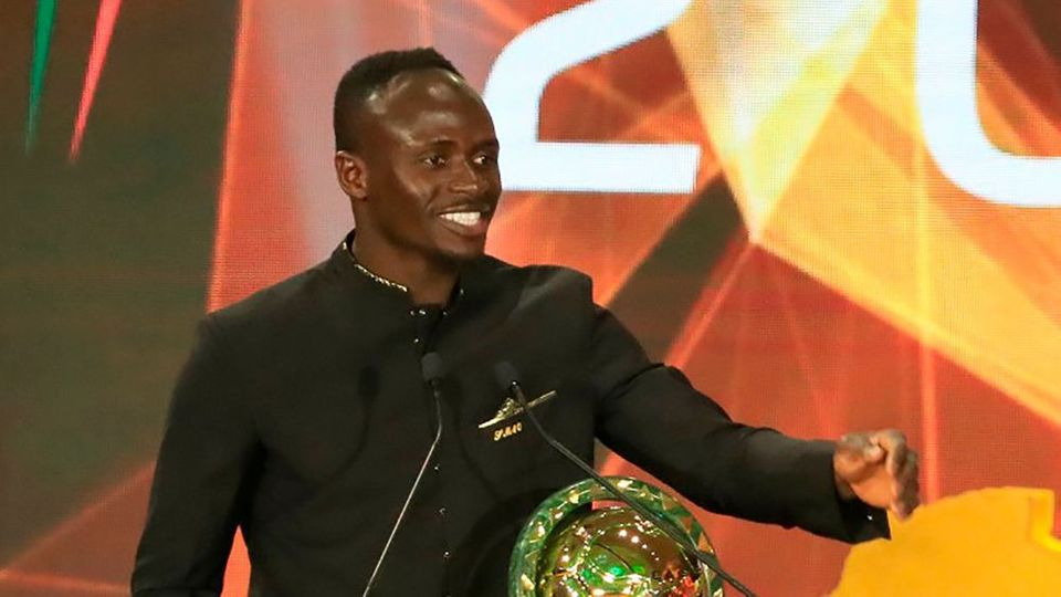 Sadio Mané ist Afrikas Fußballer des Jahres