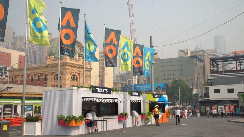 Sogar Australian Open von Feuersturm betroffen