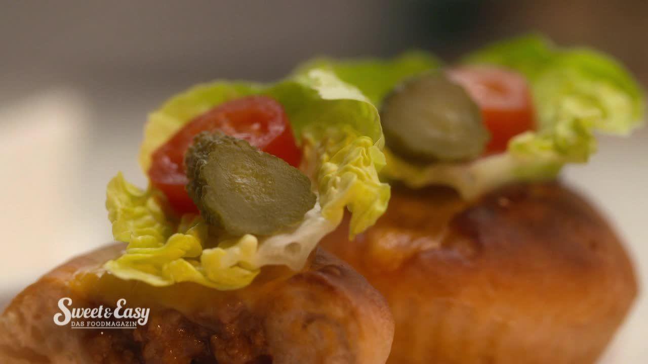 Cheeseburger-Muffin im Videorezept - Sweet & Easy - Das Foodmagazin