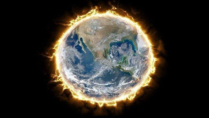 Temperaturunterschied von mehr als 100 Grad auf der Erde