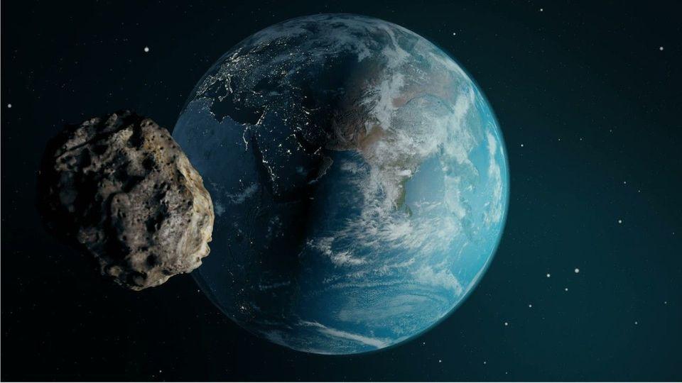 Asteroid Rast Auf Erde Zu 2021