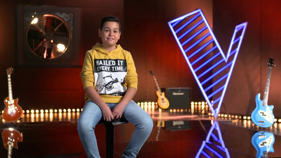 THE VOICE kids First Look: Miguel