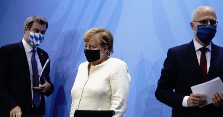 Bericht: Angela Merkel plädiert für Stufen-Lockerungs-Plan
